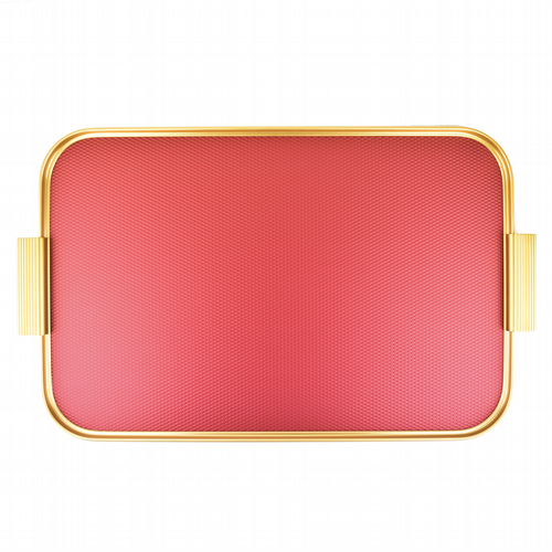 Kaymet Tray - Diamond Red & Gold
